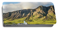 Mount Esjan Is Iceland Portable Battery Charger