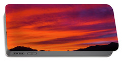 Mount Franklin Purple Sunset Portable Battery Charger