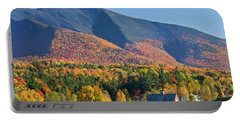 Mount Mansfield Autumn View Portable Battery Charger