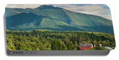 Mount Mansfield Summer View Portable Battery Charger