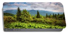 Mount Mitchell Asheville Nc Blue Ridge Parkway Mountains Landscape Portable Battery Charger