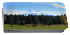 Mount Rainier Sunny Day Portable Battery Charger