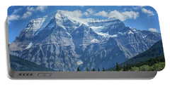Mount Robson Portable Battery Charger by Patricia Hofmeester