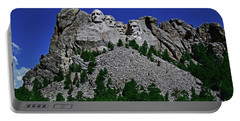 Portable Battery Charger featuring the photograph Mount Rushmore 001 by George Bostian