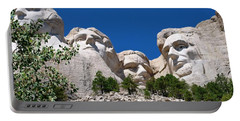 Mount Rushmore Close Up View Portable Battery Charger