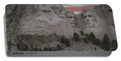 Mount Rushmore Portable Battery Charger by Juli Scalzi