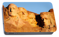 Mount Rushmore Portable Battery Chargers
