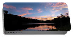 Mount Saint Francis Sunset - D010121 Portable Battery Charger by Daniel Dempster