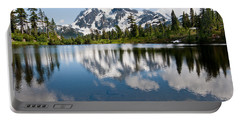 Mount Shuksan Reflected In Picture Lake Portable Battery Charger
