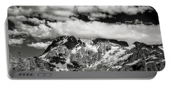 Portable Battery Charger featuring the photograph Mount Shuksan Under Clouds by Jon Glaser