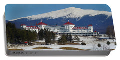 Mount Washington Hotel In Early Spring Portable Battery Charger