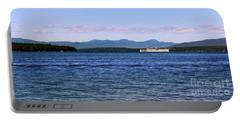 Mount Washington Portable Battery Charger by Mim White