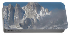 Mount Whitney In March Portable Battery Charger