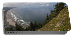 Mountain And Beach Portable Battery Charger