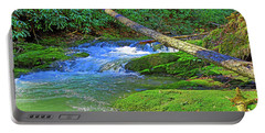 Mountain Appalachian Stream Portable Battery Charger
