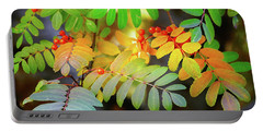 Mountain Ash Fall Color Portable Battery Charger