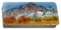 Mountain Autumn Color Portable Battery Charger by Teri Virbickis