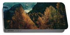 Mountain Autumn Portable Battery Charger