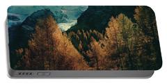 Mountain Autumn Portable Battery Charger
