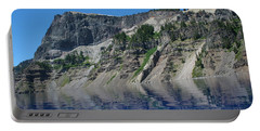 Portable Battery Charger featuring the photograph Mountain Blue by Laddie Halupa