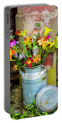 Mountain Bouquet Portable Battery Charger