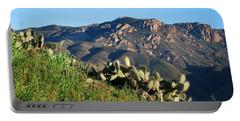 Mountain Cactus View - Santa Monica Mountains Portable Battery Charger