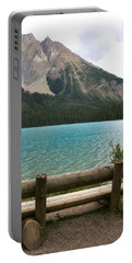 Mountain Calm Portable Battery Charger by Catherine Alfidi