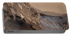 Mountain Cliff Portable Battery Charger by Nancy Kane Chapman