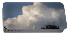 Portable Battery Charger featuring the photograph Mountain Clouds 6 by Don Koester