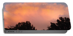 Portable Battery Charger featuring the photograph Mountain Clouds 7 by Don Koester