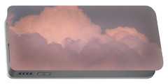 Portable Battery Charger featuring the photograph Mountain Clouds 8 by Don Koester