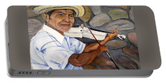 Mountain Fiddler Portable Battery Charger by Marilyn McNish
