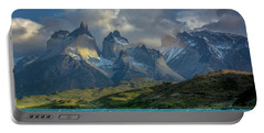 Mountain Glimmer Portable Battery Charger by Andrew Matwijec