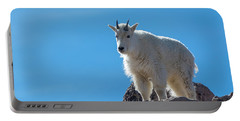Portable Battery Charger featuring the photograph Mountain Goat 4 by Gary Lengyel