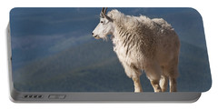 Portable Battery Charger featuring the photograph Mountain Goat by Gary Lengyel