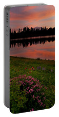 Mountain Heather Reflections Portable Battery Charger