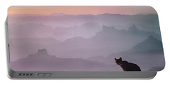 Mountain Lion Portable Battery Charger by Tim Fitzharris
