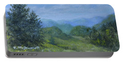Mountain Meadows Portable Battery Charger by Kathleen McDermott