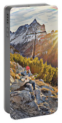 Mountain Of The Lord Portable Battery Charger