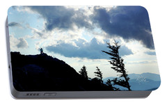 Portable Battery Charger featuring the photograph Mountain Peak by Meta Gatschenberger