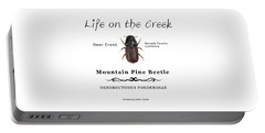 Mountain Pine Beetle Color Portable Battery Charger