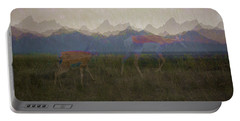 Mountain Pronghorns Portable Battery Charger