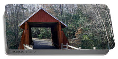 Campbells Covered Bridge 3 Portable Battery Charger by Cathy Harper