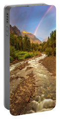 Mountain Rainbow Portable Battery Charger