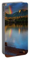 Mountain Rainbows Portable Battery Charger