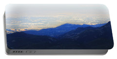Portable Battery Charger featuring the photograph Mountain Shadow by Christin Brodie