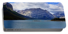 Upper Kananaskis Lake Portable Battery Charger by Heather Vopni