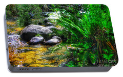 Portable Battery Charger featuring the photograph Mountain Stream by Blair Stuart