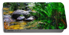 Mountain Stream Portable Battery Charger by Blair Stuart