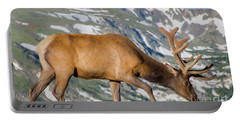 Mountain Top Elk Portable Battery Charger by John Roberts